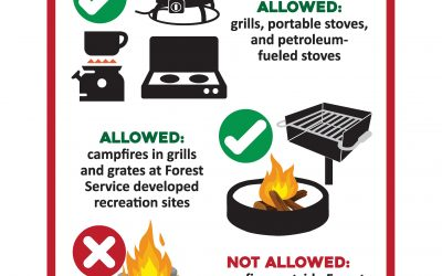 GMUG to Implement Stage 1 Fire Restrictions for the Gunnison and Uncompahgre National Forests