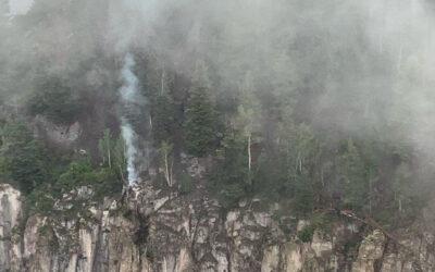 New Fire Start—Twin Sisters Fire